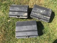 REDUCED!! 3 Black Rentokil Rat Boxes Traps