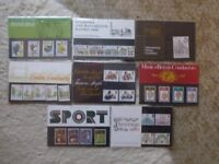 Stamp Presentation Packs 1980 - 1988.