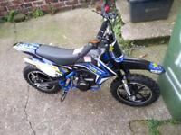 mini moto dirt bike used once