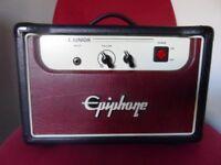 Epiphone valve junior amp.