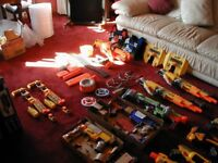 Nerf large bundle including Havoc fire and many motorised. All complete in excellent condition.