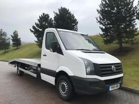 VW CRAFTER 2.0TDI 2015 LWB RECOVERY TRUCK not Mercedes sprinter ford transit