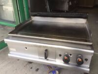QUALITY GAS FLAT GRILL LINCAT OPUS MODEL CAFE KEBAB CHICKEN TAKE AWAY FAST FOOD RESTAURANT KITCHEN