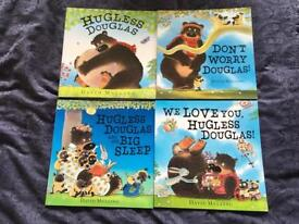 Hugless Douglas Paperback Books x 4
