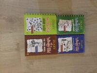 Diary of a wimpy kid - 4 books