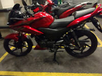 Honda CBF 125 2013, 4238 mileage, full service and MOT just complete, one owner