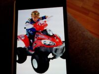 Quad bike,exc condition,great christmas present,age 4/8.