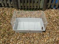 Guinea pig rabbit indoor cage.