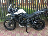 Triumph Tiger 2012 800xc ,,,4180 miles many extras fitted......