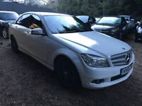 Mercedes-Benz C Class 2.1 C200 CDI BlueEFFICIENCY Sport 4dr£5,495 p/x welcome FREE WARRANTY, NEW MOT