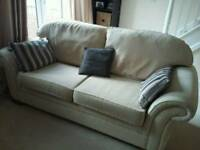 FREE FREE Three seater sofa and armchair