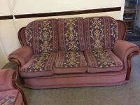 Beautiful 2 seater and 3 seater , ..original price £830 . Must be collected.