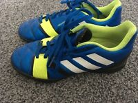 Addidas nitrocharge 3.0 neon colour size one gorgeous football boots