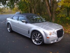 "CHRYSLER 300C - BENTLEY REP - VERY HIGH SPEC - 22"" ALLOYS - SUNROOF PX e class x5 st 730d s class"