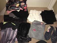 Bundle size 12 clothes and size 5 shoes