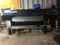 Roland Xc-540 large format print and cut