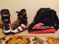 Solomon quest max 100 ski boots