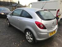 VAUXHALL CORSA AUTOMATIC 2008 SPARES OR REPAIRS £500