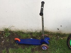 Boys micro scooter