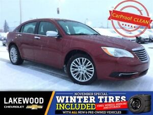 2012 Chrysler 200 Limited (Heated Leather, Colored Touch, Remote