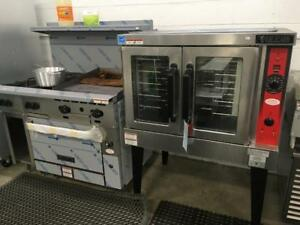 Convection Oven Gas Electric or Propane - New Vulcan Special VC4GD - Premium American Made Product