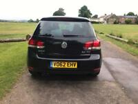 2012 VW GOLF GT TDI HPI CLEAR 2.0 140BHP WATERPUMP/TIMINGBELT DONE @97k LEATHER HEATED SEATS/SATNAV