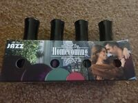 New All That Jazz 4 Nail Polish Set The Homecoming Collection RRP £29.98 selling only £5 ideal Gift