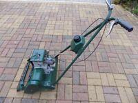 "Suffolk Punch self propelled lawn mower, 14"" (355mm) cut."