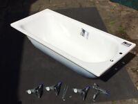 Brand new, never installed Kaldewei Saniform Plus Bath 1700x750 with feet.
