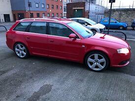 Audi A4 Sline Tdi avant 2006reg FSH Bargain