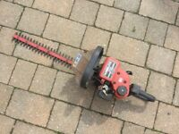 Homelite 21 inch petrol hedge trimmer