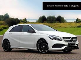 Mercedes-Benz A Class A 180 D AMG LINE PREMIUM PLUS (white) 2016-07-14