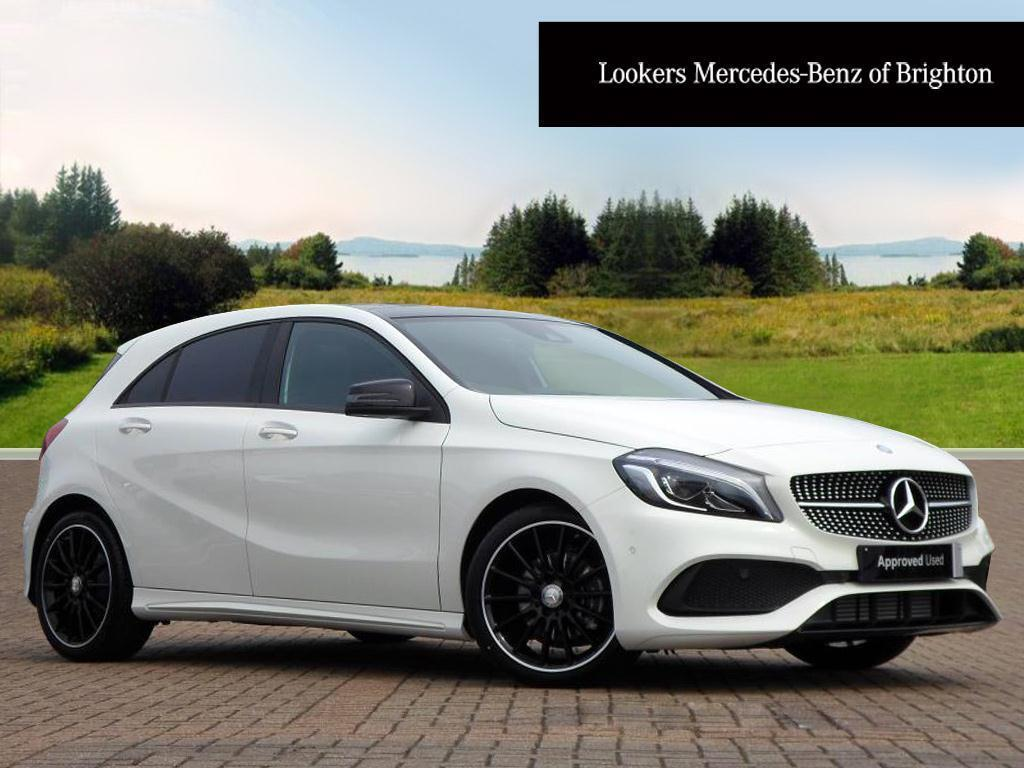 mercedes benz a class a 180 d amg line premium plus white 2016 07 14 in portslade east. Black Bedroom Furniture Sets. Home Design Ideas