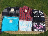 Hollister women's clothing bundle XS-S