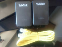 Talktalk powerline extenders