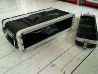 2U Rack Case (shallow) for fx unit, bass head, anything!