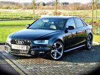 ONLY 20K MILES (2012) AUDI A4 S LINE BLACK EDITION 2.0 TDI [START STOP] XENON - FSH - 19 INCH ALLOYS