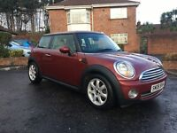2008 MINI COOPER ** FULL CREAM LEATHER INTERIOR ** START/STOP *** FINANCE AVAILABLE ***