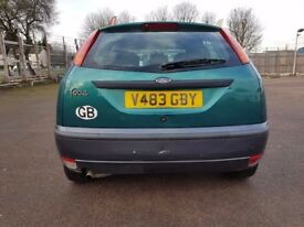 Ford Focus 5dr Mileage 96k MOT Till Sep, 2018. Lady Owner.