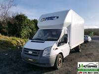 09 Ford Transit 2.4 rwd Twin axle ***BREAKING PARTS AVAILABLE ONLY
