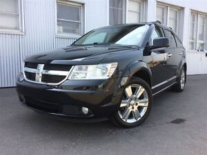 2010 Dodge Journey R/T, AWD, LEATHER , SUNROOF , 7 PASS, NAV, DV