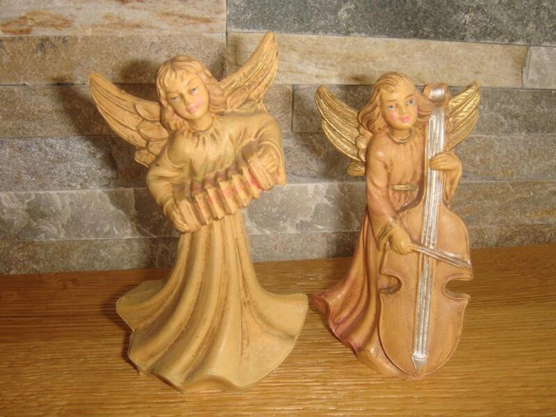 2 krippenfiguren engel in nordrhein westfalen w rselen ebay kleinanzeigen. Black Bedroom Furniture Sets. Home Design Ideas