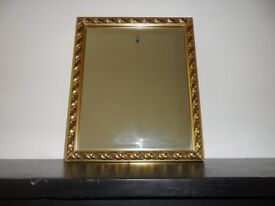 Antique style, Gold Mirror Framed Mirror