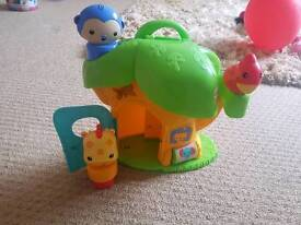 Fisher price discovery tree house