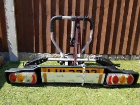 Witter ZX200 bike carrier tow bar mounting