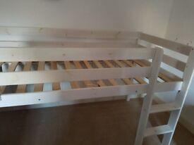 Cabin Bed Mid Sleeper £60