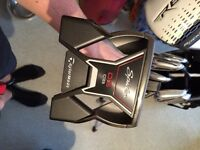 Taylor made tour preferred CB 4-pw. Driver, putter and bag.