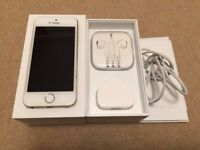 iPhone 5S gold unlocked, like new for sale