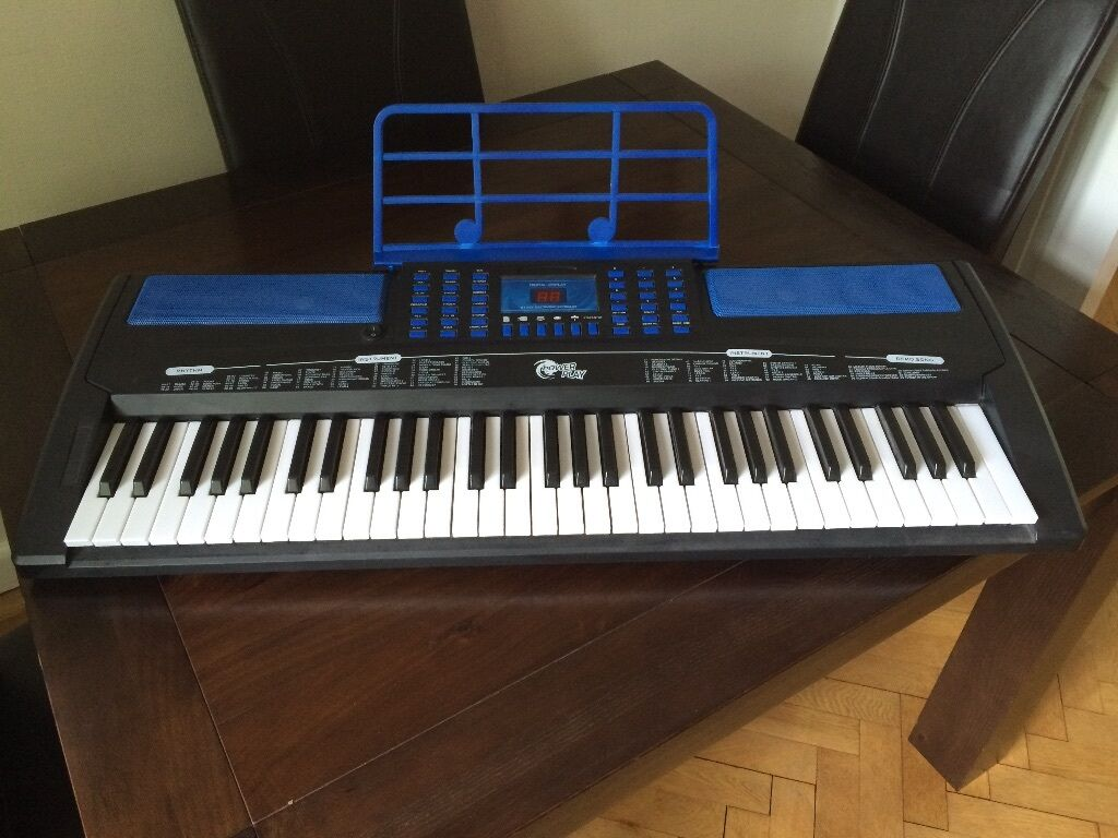 power play electronic keyboard in sketty swansea gumtree. Black Bedroom Furniture Sets. Home Design Ideas