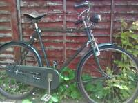 VINTAGE 1950's RALEIGH BIKE, FULLY RESTORED